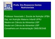 Formação e exercício profissional do Nutricionista no Programa ...