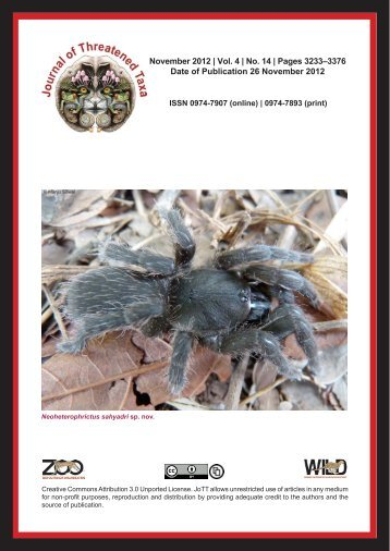 View - Journal of Threatened Taxa