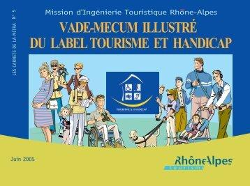 vade-mecum illustré du label tourisme et handicap