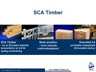 Anställda SCA Timber - SCA Forest Products AB