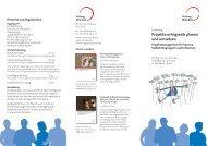 Projekte erfolgreich planen und umsetzen - Wohnprojekte Portal