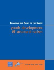 Youth Development & Structural Racism - the Philanthropic Initiative ...