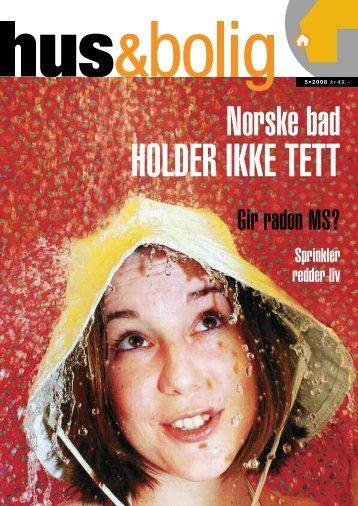 Hele Hus-Bolig nr. 5-2008.pdf - Huseiernes Landsforbund