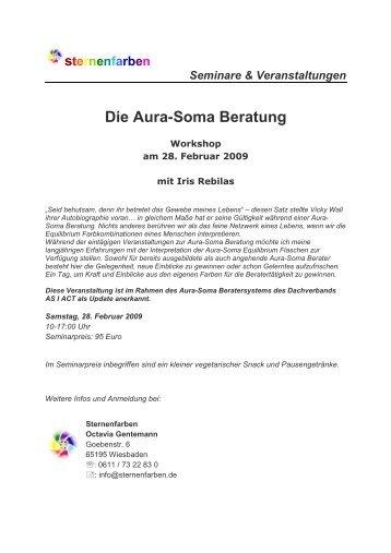 Die Aura-Soma Beratung - Sternenfarben