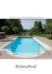 RivieraPool Hauptprospekt Fertigschwimmbecken - Wellness und ...