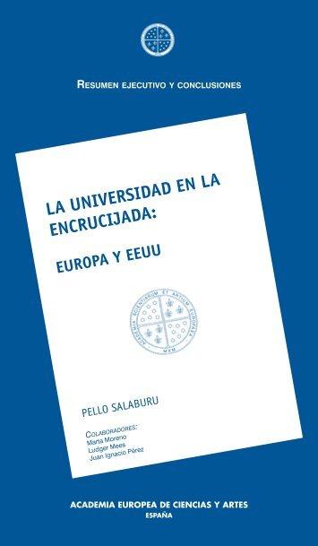 LA UNIVERSIDAD EN LA ENCRUCIJADA: - Universidad de Granada