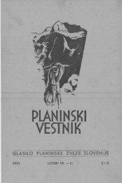 Februar-Marec - Planinski Vestnik