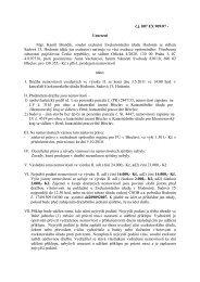 č.j. 007 EX 909/07 - Usnesení Mgr. Kamil Brančík, soudní exekutor ...