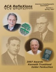 download - American Crystallographic Association