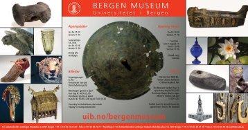 Brosjyre - visitBergen