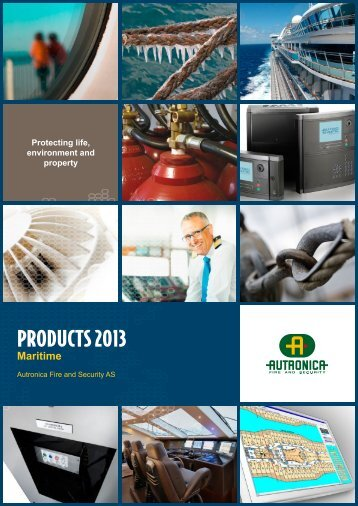 PRODUCTS 2013 - Autronica Fire and Security AS