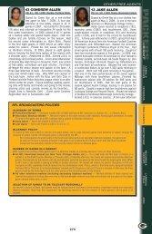 NFL broadcastiNg poLicies 43 CONDREW ALLEN 13 ... - Packers