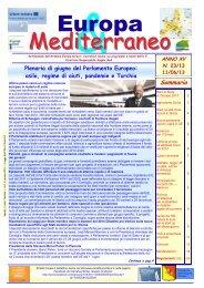 Europa & Mediterraneo n. 23 - Euromed Carrefour Sicilia