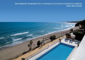 beachfront apartment in a centrally located luxurious ... - Panorama