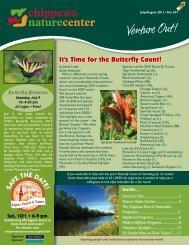 July/Aug 2011 - Chippewa Nature Center