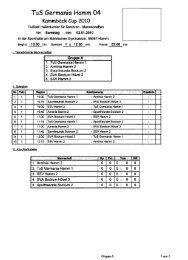 TuS Germania Hamm 04 - SVF Herringen 03 e.V.