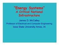 """Energy Systems"" - Iowa State University"