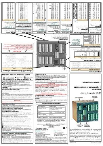REGULADOR Mini8™ ! - Eurotherm Ltda