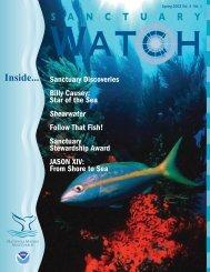 Sanctuary Watch Vol. 4 No. 1 - National Marine Sanctuaries - NOAA