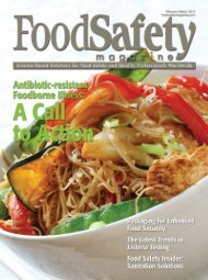 Food Safety Magazine, February/March 2012