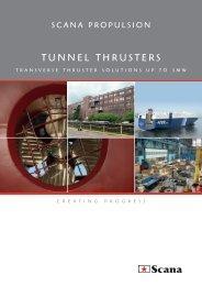 tunnel thrusters - Scana Industrier ASA