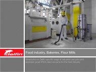 Food industry, Bakeries, Flour Mills - Flextraction