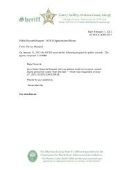 Feb. 1 - Personnel Roster - Okaloosa County Sheriff's Office