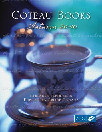 Colour Catalogue - Coteau Books