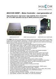 SWM7 Datasheet - MACCON GmbH