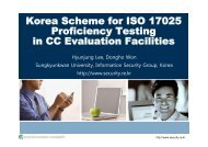 Proficiency testing administration - Your Creative Solutions