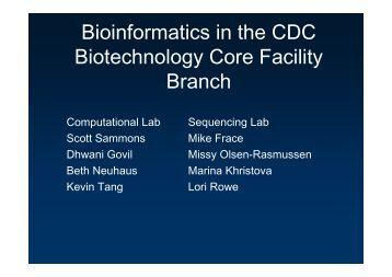 Computational Genomics Lecture 1-27-10 - Compgenomics2010