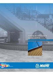 Sistemas de instalación de losetas y piedras - Mapei