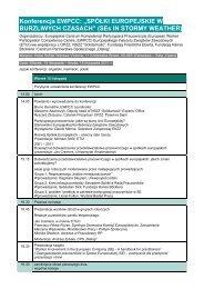 Konferencja EWPCC - WORKER PARTICIPATION.eu