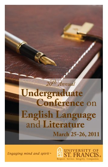 Undergraduate Conference on English Language and Literature