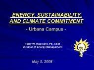 Energy, Sustainability, and Climate Commitment - Illinois ...