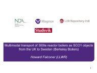 Falconer-Magnox-LLWR-and-Studsvik-Presentation - Ramtuc