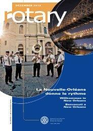 La Nouvelle-Orléans donne le rythme - Rotary Schweiz