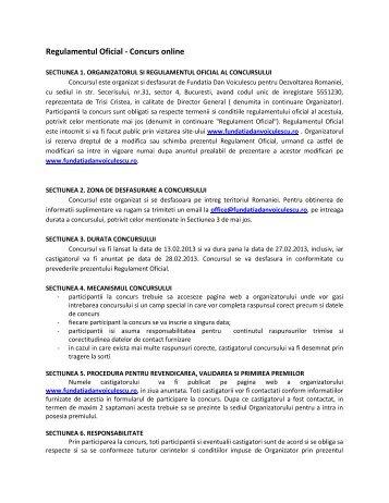 AICI - Fundatia Dan Voiculescu pentru dezvoltarea Romaniei