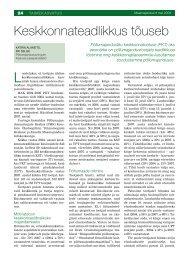 Keskkonnateadlikkus tõuseb - Põllumajandusuuringute Keskus