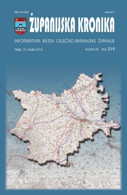 Županijska kronika broj 219 - Osječko baranjska županija