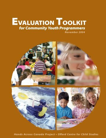 Evaluation Toolkit for Community Youth Programmers - Bank of Ideas