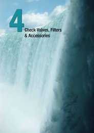 Check Valves, Filters & Accessories - Valnor AS
