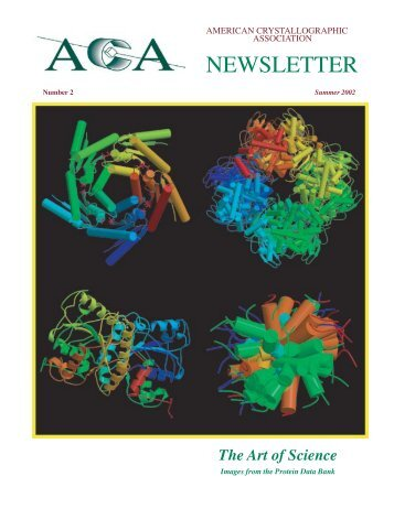The Art of Science - American Crystallographic Association