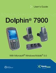 Dolphin 7900 User's Guide
