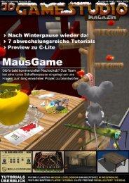 3D GAMESTUDIO-Magazin Ausgabe 03   März 20061