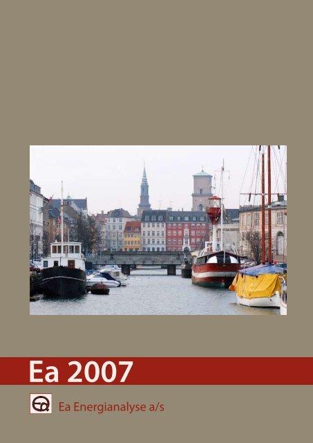 Ea 2007 - årsskrift - Ea Energianalyse