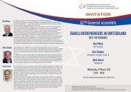 Israeli entrepreneurs-event_cover_draft - Handelskammer Schweiz ...