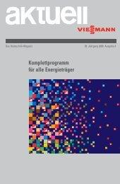 aktuell / Das Heiztechnik-Magazin / 38. Jahrgang 2006 Ausgabe 3