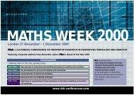 London 27 November - 1 December 2000