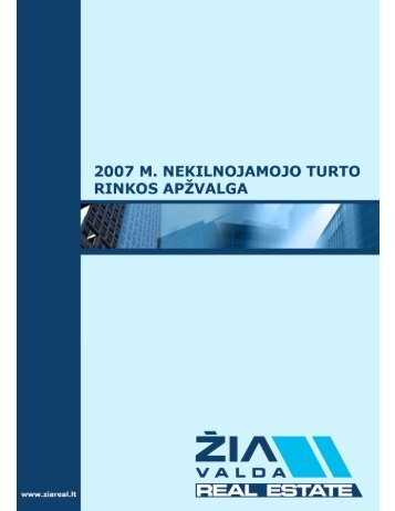 NT rinkos apžvalga 2007 m. (Orem) - SPOT